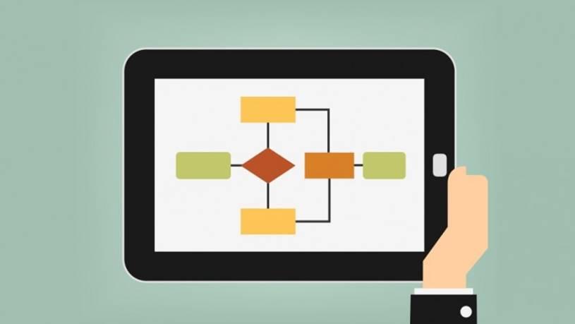 A tecnologia ajuda no desenvolvimento de fluxograma de Processo