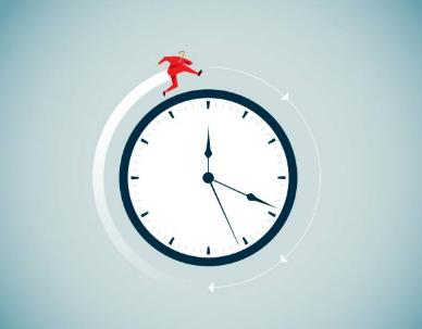 Gráfico mostrando que o tempo é vital para o planejamento estratégico