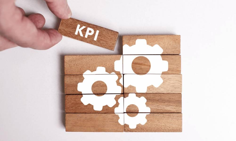 Ilustração de um KPI