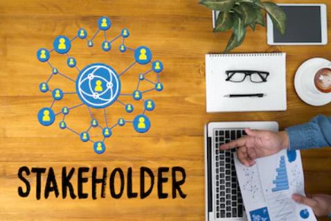 Figura mostrando o stakeholder no gestão de projetos