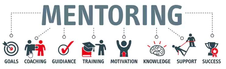 Figura que mostra todas as áreas do mentoring