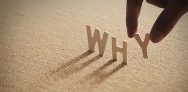 Figura mostrando a palavra WHY e como afeta a mudança organizacional