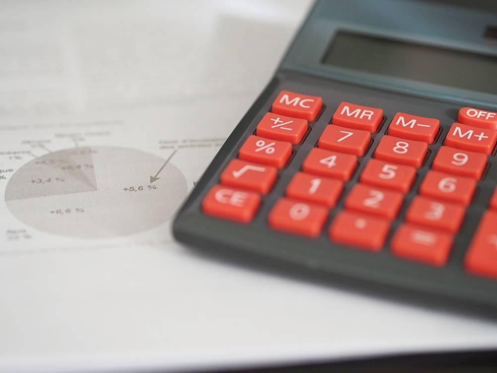 Foto de Calculadora para o Controle de Ações