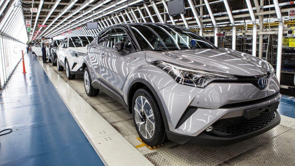 Fábrica da Toyota, usando o Hoshin Kanri