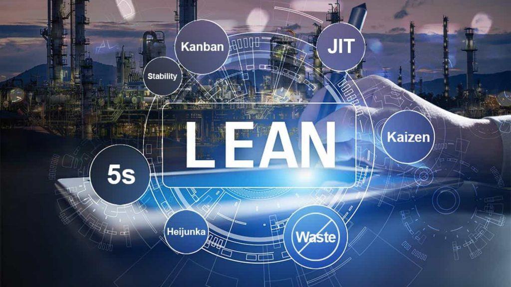 Algumas das ferramentas utilizadas em treinamento Lean