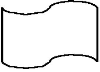 Símbolo de Fita Perfurada