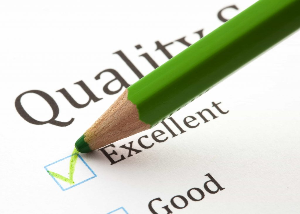 A Qualidade é fundamental para o feedback positivo do cliente