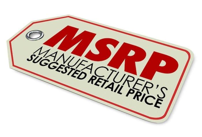 Manufacturer Suggested Retail Price (MSRP): O que é e como calcular?
