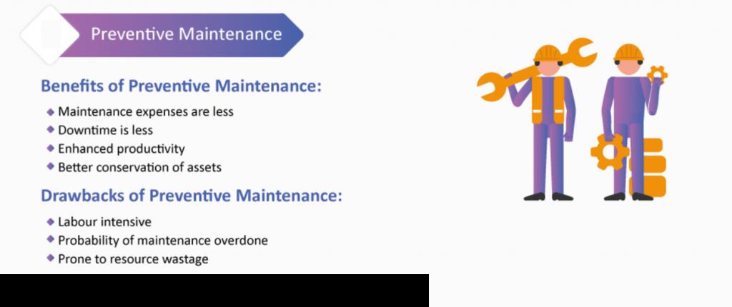 Confira mais algum detalhes da manutenção preventiva