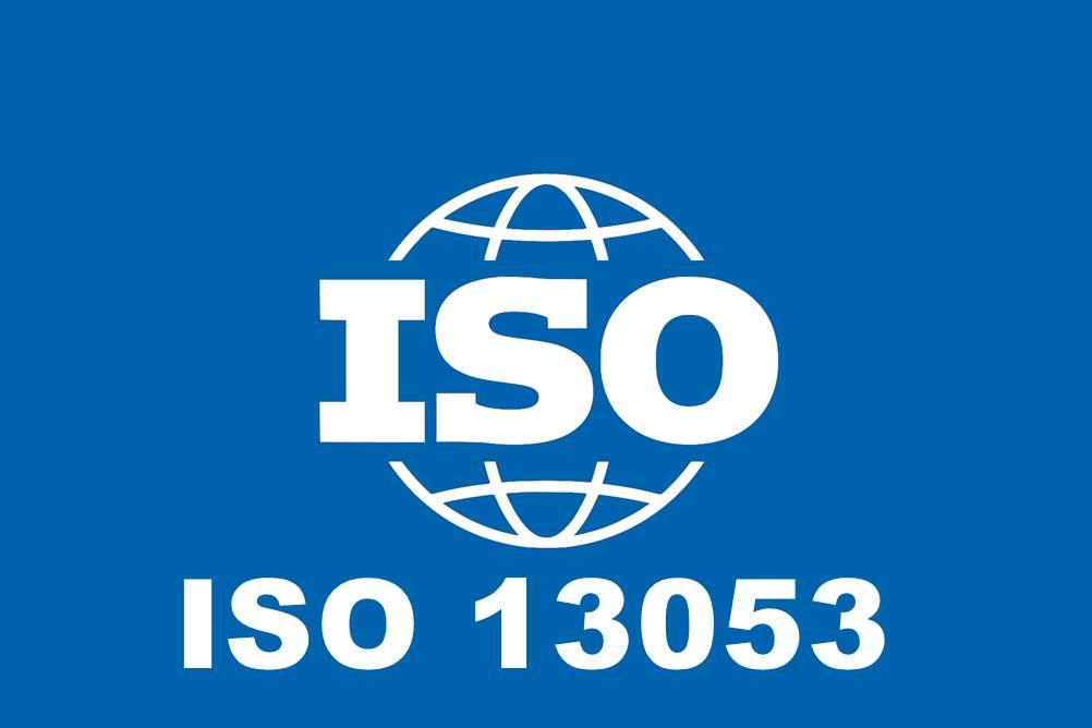 Nesta imagem, temos o símbolo da ISO 13053