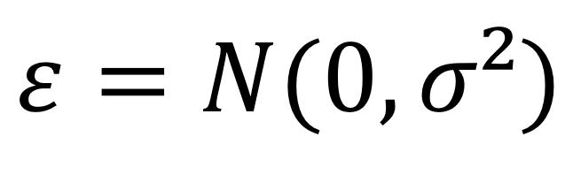 A fórmula da distribuição normal