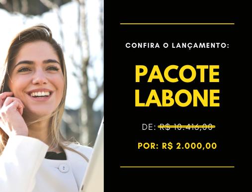 Informações do preço sobre o Pacote Labone